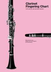 Murphy, Brenda: Clarinet Fingering Chart for eb, bb, eb alto and bass clarinets