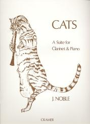 Noble, John: Cats A suite for clarinet and piano