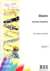 Oasis pour clarinette et piano