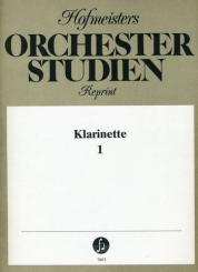 Orchesterstudien Band 1 für Klarinette