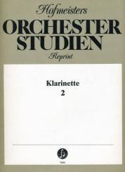 Orchesterstudien für Klarinette Band 2
