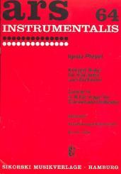 Pleyel, Ignaz Joseph: Konzert B-Dur für Klarinette und Orchester für Klarinette und Klavier