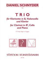 Schnyder, Daniel: Trio für Klarinette in C, Violoncello und Klavier