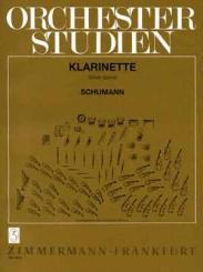 Schumann, Robert: ORCHESTERSTUDIEN FUER KLARINETTE SZUECS, ISTVAN, ED.
