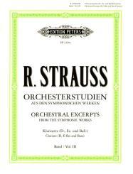 Strauss, Richard: Orchesterstudien Band 3 für Klarinette