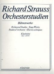 Strauss, Richard: Orchesterstudien aus Bühnenwerken Band 1 für Klarinette in B/D/Es