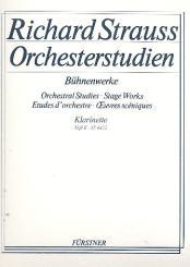 Strauss, Richard: Orchesterstudien aus Bühnenwerken Band 2 für Klarinette 1 in A/B/C
