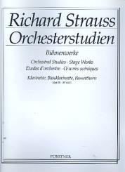 Strauss, Richard: Orchesterstudien aus Bühnenwerken Band 3 für Klarinette 1 in A/B/C