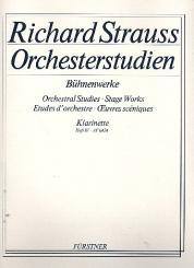 Strauss, Richard: Orchesterstudien aus Bühnenwerken Band 4 für Klarinette 2 in A/B/C