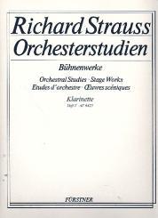 Strauss, Richard: Orchesterstudien aus Bühnenwerken Band 5 für Klarinette 3/4/Bassklarinette/, Bassetthorn
