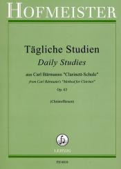 Tägliche Studien aus Carl Bärmanns Clarinett-Schule op.63 für Klarinette