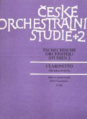 Tschechische Orchesterstudien Band 2 - Dvorak Orchesterwerke für Klarinette
