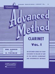 Voxman, Himie: Advanced Method vol.1 for clarinet