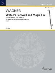 Wagner, Richard: Wotans Abschied und Feuerzauber für Bassklarinette und Klavier