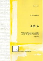 Wimmer, Alois: Aria op.24 für Klarinette (Melodieinstrument) und Klavier