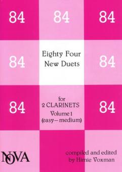 84 new duets vol.1 for 2 clarinets (easy-medium)