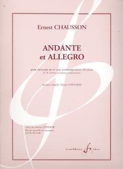 Chausson, Ernst Amédée: Andante et Allegro pour clarinette et piano
