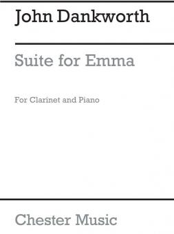 Dankworth, John: Suite for Emma for clarinet and piano