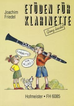 Friedel, Joachim: Etüden für Klarinette (ganz leicht)