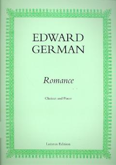German, Edward: Romance for clarinet and piano