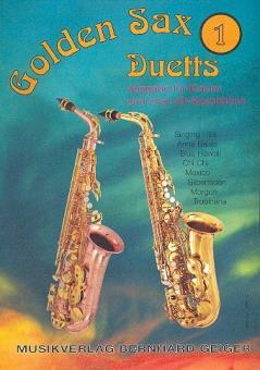 Golden Sax Duets Band 1 für 2 Altsaxophone und Klavier