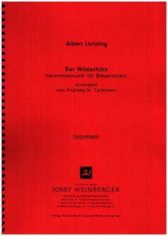 Lortzing, Albert: Der Wildschütz für Flöte, 2 Oboen, 2 Klarinetten, 2 Hörner, 2 Fagotte, Stimmen
