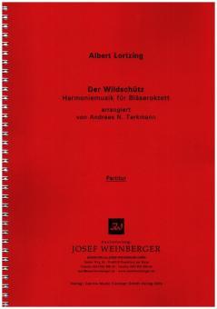 Lortzing, Albert: Der Wildschütz für Flöte, 2 Oboen, 2 Klarinetten, 2 Hörner, 2 Fagotte, Partitur