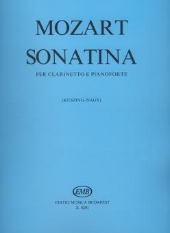 Mozart, Wolfgang Amadeus: Sonatine für Klarinette und Klavier